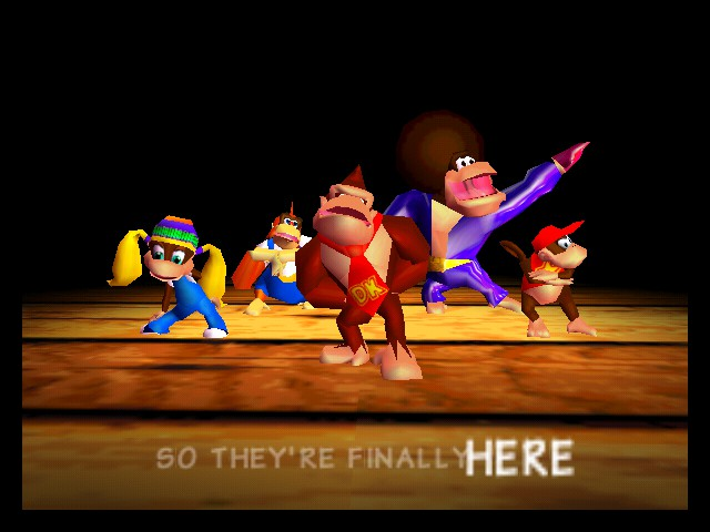 Donkey Kong 64 - DK.....  Donkey Kong!! - User Screenshot